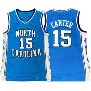 NCAA Vince 15 carter Jersey 23 Michael MJ North Carolina State University James Jayson LeBron 0 Tatum Russell Basketbol Westbrook Formalar