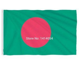 Parade 3x5ft Kalite Bangladeş Polyester yüksek Asya Bayraklar Baskılı Afişler Ve Afişler Custom Ulusal Bayrak KEtZi lg2010