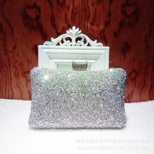 Fashion evening banquet bag Diamond women's handbag banquet dress handbag