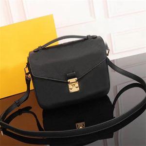 Hot! Vender clássico Luxury Design Handbag Mulheres senhoras Crossbody Bag Melhores METlS qualidade pochette sacos de transporte gratuito
