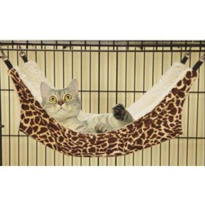 Cat Bed Pets Warm Hammock Hanging House for Small Dog Winter Pet Double-sided Mat Nest Short Plush Kitten Dog House Sofa Cushion