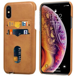 Cgjxsfor Iphone Xr El caso ultra fino premium Casos Funda de cuero del teléfono para Iphone XS XS Max