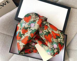 Designer 100% soie Turban bandes de cheveux Bandeau pour Femmes 2020 Summer New Head Marque de style écharpe meilleure qualité S944