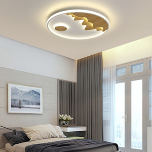 Nordic LED Ceiling lamp round new ultra-thin bedroom light balcony study modern minimalist room aisle light RW441