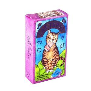 Tarot juego Read Full Inglés Gato Oracle 78 Y Tarjetas completa Junta Inglés Destino Guía yxlbSg ffshop2001