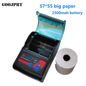 Portable Mini 58mm Bluetooth Thermal Receipt Ticket 57 50 paper Printer For Mobile Phone Bill Machine shop printer for Store