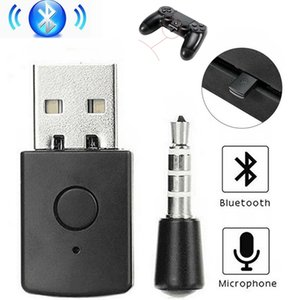 3.5mm Bluetooth V4.0 + EDR USB Dongle Latest Version Wireless Adapter for PS4 Headphone Microphone
