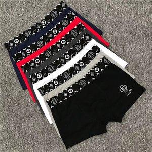 Männer weicher Baumwoll-Unterwäsche Mode Cute Bear Tier Printed Boxer Breathunterhose Männer Casual Shorts Größe M-2XL