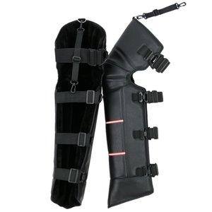 Inverno aquecimento Knee Pads motocicleta Scooter Windproof inverno mais quente do joelho Leg Pad Protector