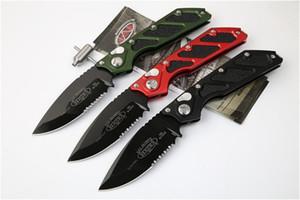 DOC automática faca Killswitch dupla acção tático liga de alumínio D2 lâmina Aviação 6061 cabo da faca exterior campismo