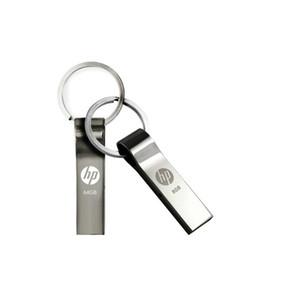 16 GB 32 GB / 64 GB / 128 GB / unidad flash USB del metal llavero / 256 GB HP v285w / real capacidad pendrive / Mejor lápiz de memoria USB 2.0 calidad