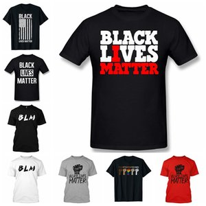 Black Lives Matter T-Shirt Soft Cotton BLM Casual Summer Short Sleeve I Can't Breathe Hip Hop Unisex Top Tee Sports Clothes LJJP510