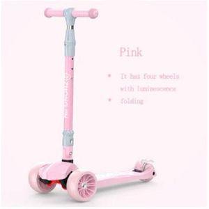 2020 Nouveaux pliant scooter équilibre Enfants pour enfants Bike Ride jouets flash LED roue sports de plein air pour les enfants de Noël, anniversaire g