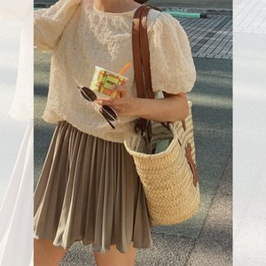 8RLgt It's really comfortable to wear ~ skirt a sexy short with long legs suit new Suit Short skirt 20 material petal pleated pants it's