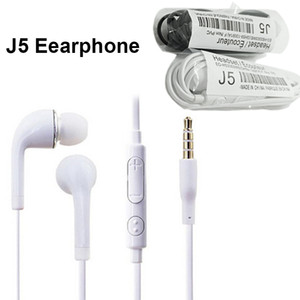 J5 Earphone Stereo headsets For Samsung Galaxy S6 S7 S5 S4 S3 S2 Note3 In-ear Earphone Headphone With Mic 3.5mm