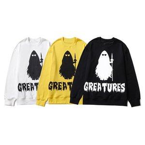 Moda erkek hoodie 2020 Sonbahar Kış Yüksek Kaliteli Moda Kadınlar Baskı Casual Grace Triko Uzun kollu Boyut M-2XL