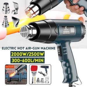 2500W 220V Digital Electric Hot Air Guns stepless AdjustableTemperature-controlled Building Hair dryer Heat gun Soldering Tools