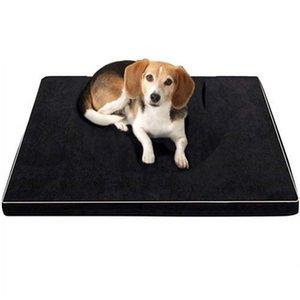 Pet Dog Bed mousse à mémoire de chat Puppy Dog Sofa Nest Coussin Oxford Bas matelas orthopédique Lits pour MOYENNES chiens de grande taille