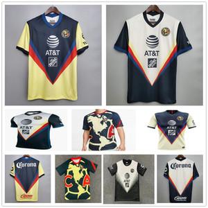 2020 Liga MX Club America Soccer Jerseys 20 21 قبل التدريب التدريب Giovani O.peralta P.Aguilar CA حارس مرمى الكبار أطفال كرة القدم