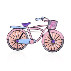 Brooch of Best-selling Bike Shape Brooches and Pins Fashion Metal Alloy Cartoons Brooch Pin for Men Women Sweater Dress