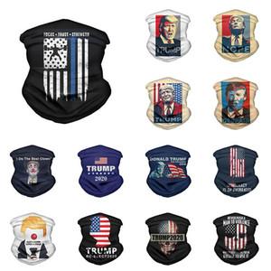 2020 Trump Magie Turban Trump-Gesichtsmaske US-Wahl Adult Außen Bib Cycling Mask XD23955
