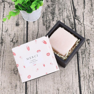 2pcs Upscale Marbling Merci Candy Drawer Bag French Thank You Wedding Favors Gift Box Package Birthday Party Favor Bags