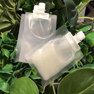 5ml muestra líquida de plástico Boquilla bolsa Translucence Crema Loción Embalaje de maquillaje de la bolsa para el cosmético de Premium Giveaway