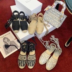 Christian Dior bag Fashion womens fisherman shoes hococal baotou sandals platform light weight women's shoes twine weave cross tie laces fisherman shoes GFN