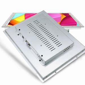 """12 """"12.1 بوصة مونيتور الصناعية هدمي الشاشة شاشة الحاسوب المفتوحة PC الإطار الشاشة لا تعمل باللمس مع HDMI VGA DVI الناتج"""