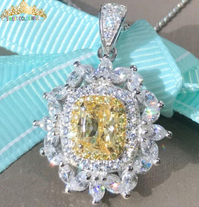 Chains Jewelry 100% 18K Gold Moissanite Diamond Necklace With A Certificate 005