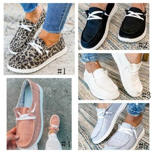 Women Casual Flats Suede Shoe Slip On Fashion Loafers Sneakers Leopard Print lazy Shoes With Crossover strap 5 STYLES GGA3725-2