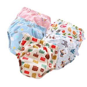 Herbabe Baby Training Pants Panties Cotton Baby Diapers Reusable Cloth Diaper Cover Nappies Washable Infant Kids Underwear Nappy