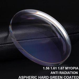 Anti Blue Light Blocking 1.56 1.61 1.67 Prescription Lenses Aspheric Glasses Lenses Myopia Hyperopia Presbyopia Diopter Lens