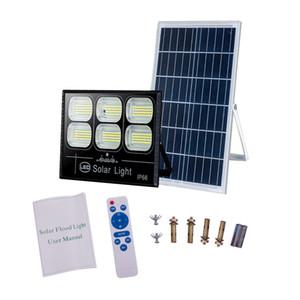 أدى 300W الطاقة الشمسية الإضاءة في الهواء الطلق والحدائق منتجات أضواء حديقة معلقة في الهواء الطلق الديكور تعمل بالطاقة الشمسية ضوء الشمسية الفيضانات لحديقة أو شرفة مغطاة