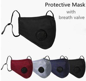 Respirazione bocca polvere riutilizzabile Earloop con maschere regolabili Valve Anti MK05 traspirante Protective face mask antipolvere Xhlight Xxxyg