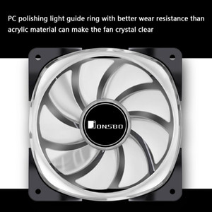 JONSBO FR-701 ARGB PC Case Fan 120mm 9 клинка Адресный RGB LED PWM вентилятор охлаждения освещения PWM корпус вентилятора охлаждения 120 мм