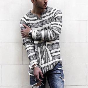 Size Spring Loose Tshirts Mens Designer T shirts Fashion Striped Long Sleeve Casual Tops Mens Plus