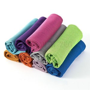 Sports cold towel fast cooling fitness running sweat absorption cooling cold outdoor mountaineering sports wipe towel fitness running sweat