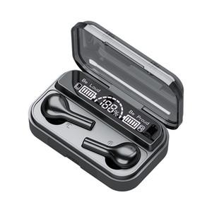 Box Şarj 278 TWS Bluetooth 5.0 Kulaklık Kablosuz kulaklıkl 9D Stereo Spor Su geçirmez Kulaklık Kulak tıkacı ile Mic 2200mAh