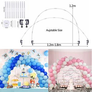 Ballon-Halter Säule Stehen Halten Hochzeit Tabelle Arch Kit für Geburtstags-Party-DIY Kulisse Ballon Bogen Kette Dekoration Supplies
