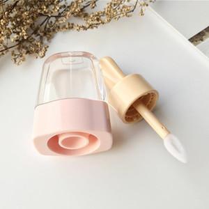5pcs hielo Contenedores Hacer Botella tarros de labios Crema Crema cosmética de bricolaje Brillo recargable Up Tool tubo transparente Vacío Lip yxlhH homeindustry