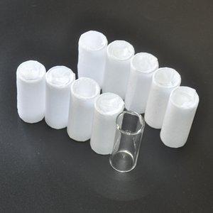 10Pcs Guitar String Slide Finger Tube Organic Glass 51x25mm