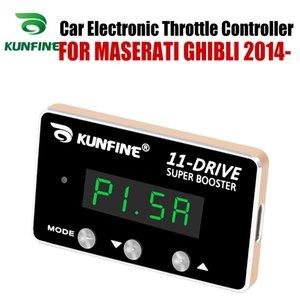KUNFINE السيارات الالكترونية خنق المراقب سباق مسرع الداعم فعالة لMASERATI GHIBLI 2014 بعد ضبط قطع غيار