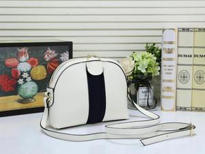 çizgili omuz çantası kabuk çantası ücretsiz alışveriş dikiş Moda bayan çanta cüzdan kaliteli crossbody çanta Lüks Tasarım mektup