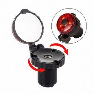 Road Bike Drop Bar Safety Bicycle Rearview Mirror Riding Reflector Repair Parts cGk2#