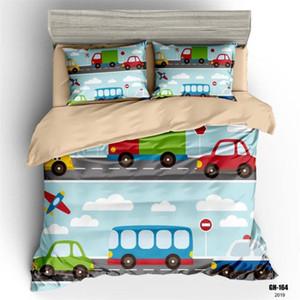 30Kids cama Set Meninos Único capa de edredão Cars Impressão Digital Roupa de cama para crianças Menina Quilt Cover Set Completo Para Bed
