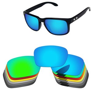 PapaViva ПОЛЯРИЗОВАННЫЕ Сменные линзы для Аутентичные Холбрук OO9102 Солнцезащитные очки 100% UVA UVB защиты - Множество вариантов