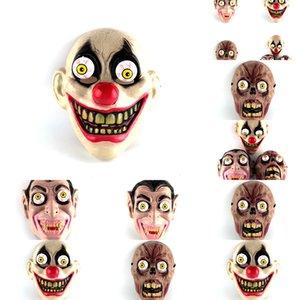 Versand Terrorist Rotten Corpse Latex N6plx Geist-Spielzeug-Spiel Trick Carnival Grimasse Maske Show Party für Halloween Hallowmas Lustig