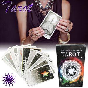 78 Sheets selvagem Tarot Mistérios animal Natural Board Game World Tarot da Oracle Card Games For Lovers bbyygU homebag