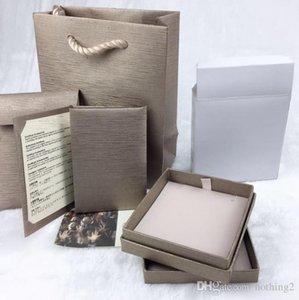 Cgjxs Desigenr Box Sonho original de jóias caixa do anel colar pulseira Jewelry Box Set 5 peça Com Mulher Marca Gift Bag